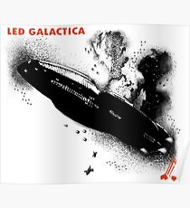 Led Galactica Poster