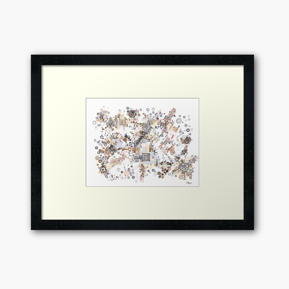 Remembrances of Past Glories Framed Art Print