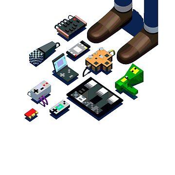 Nanoloop Chiptune 8-bit by Trebleclefecho