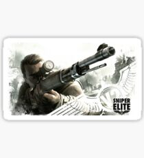 Sniper Elite Sticker