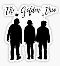 The Golden Trio Sticker