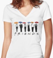 FRIENDS Hoodie  Women's Fitted V-Neck T-Shirt