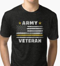 Army Veteran Shirt Tri-blend T-Shirt