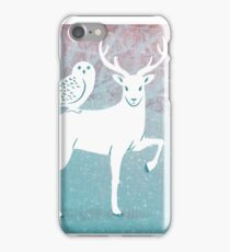 Winter In The White Woods iPhone Case/Skin