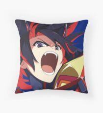 Ryuko Matoi (Kill La Kill) Throw Pillow