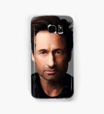 Portrait of David Duchovny Samsung Galaxy Case/Skin