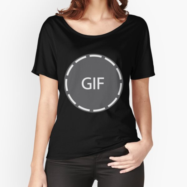 I am GIF Relaxed Fit T-Shirt