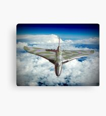 Vulcan XH558 In The Sky !! Canvas Print