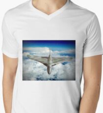 Vulcan XH558 In The Sky !! Men's V-Neck T-Shirt