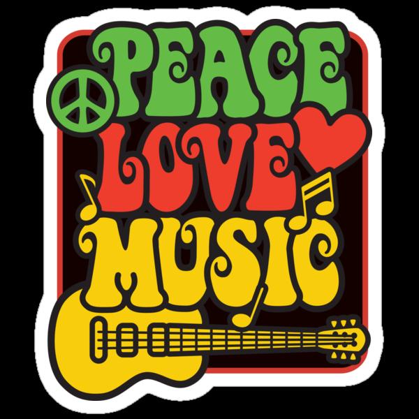 Rasta Peace, Love, Music by Lisann