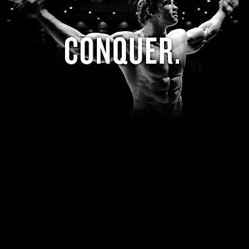 Arnold Schwarzenegger Mr Olympia Conquer  by gilbertop