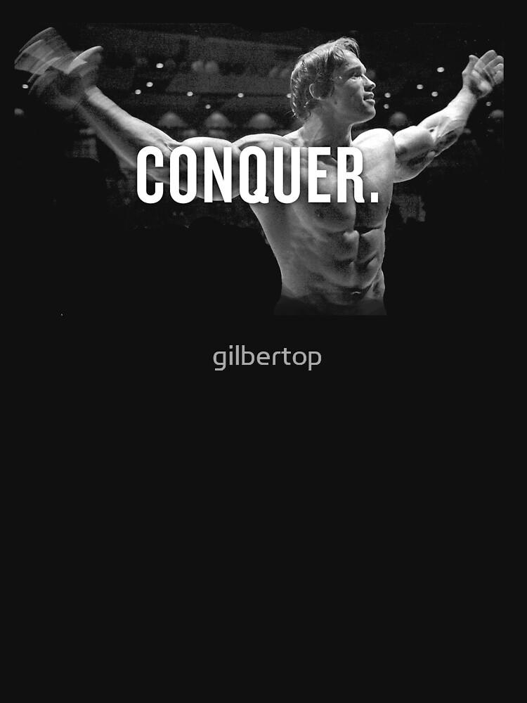 Arnold Schwarzenegger Mr. Olympia Conquer von gilbertop