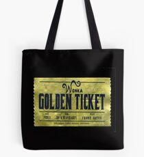 willy wonka golden ticket Tote Bag