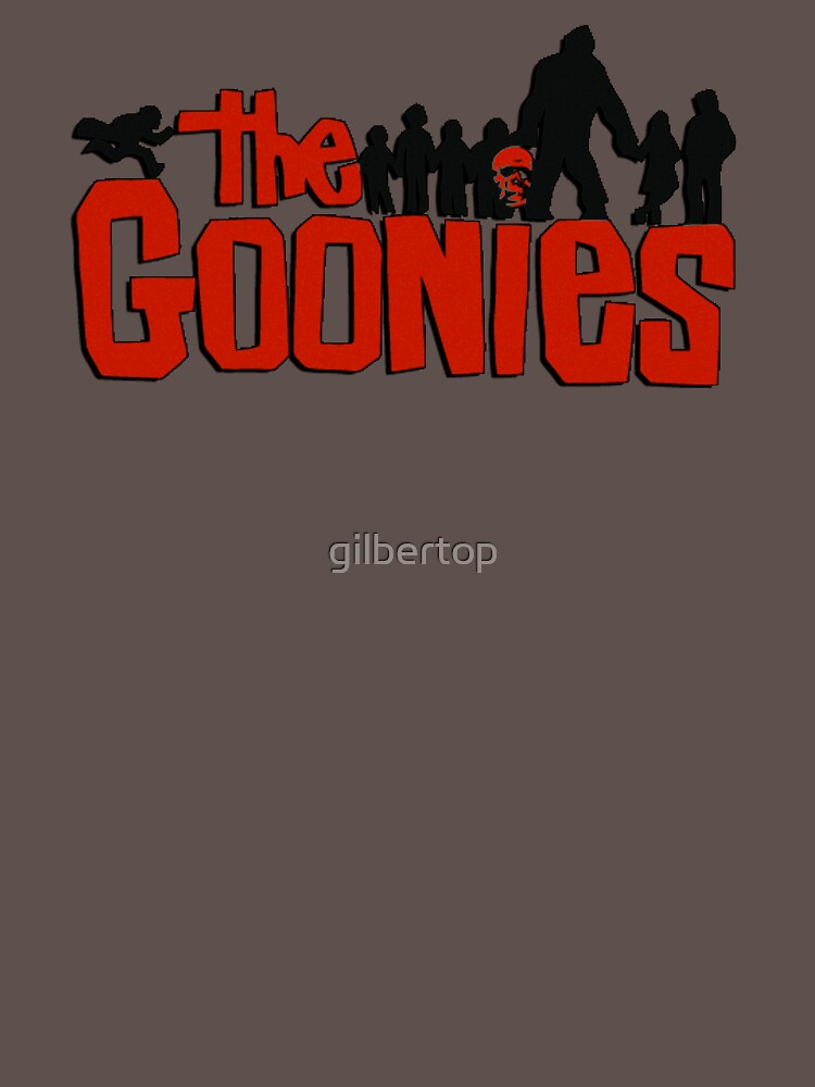Das Goonies Logo und die Charaktere von gilbertop