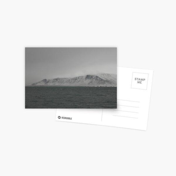 Reykjavik Mountain Postcard