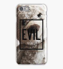 Evil teddy bear iPhone Case/Skin