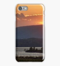 Sunset over Annapolis River iPhone Case/Skin