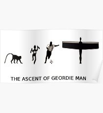 The Ascent of Geordie Man Poster
