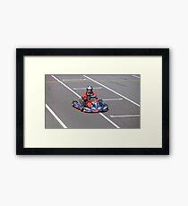Go-cart Framed Print