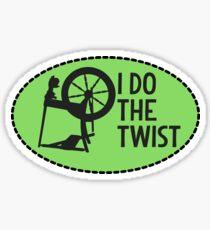I Do the Twist. Sticker