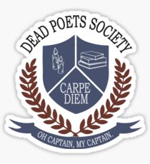 Gesellschaft der toten Dichter Sticker