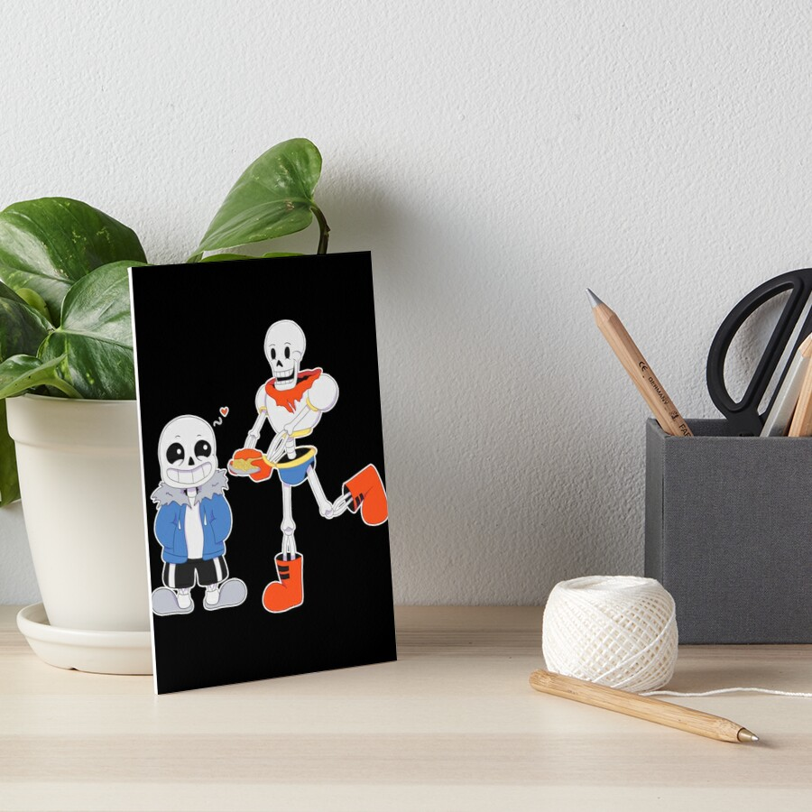 Sans and Papyrus - Undertale by Selena Bittersweet