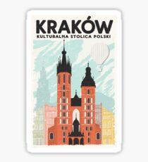 Krakow: Kulturalna Stolica Polski Sticker