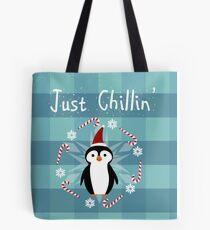 Chill Penguin Tote Bag