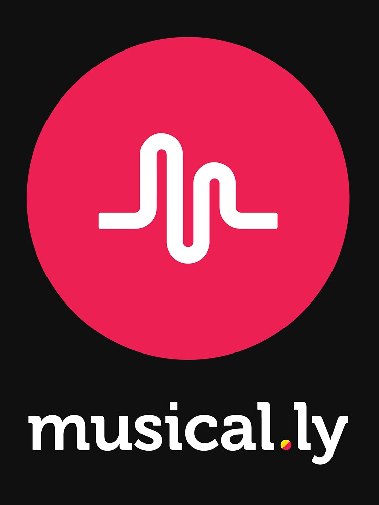 TShirtGifter presents: Musical.ly symbol | Unisex T-Shirt