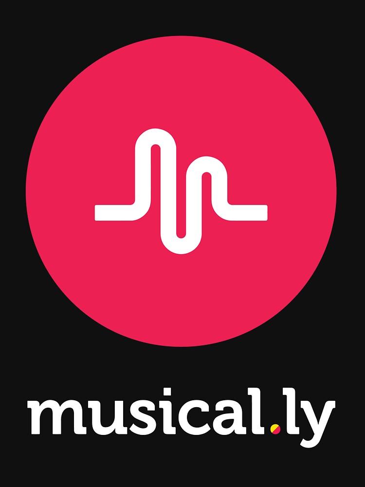 TShirtGifter presents: Musical.ly symbol | Unisex T-Shirt