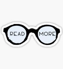 Read More Glasses Sticker