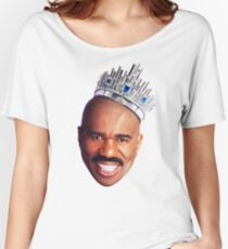 Steve Harvey's Crown Women's Relaxed Fit T-Shirt
