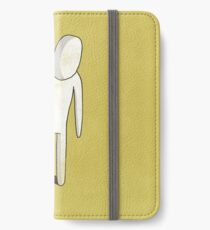 Lonely white man iPhone Wallet/Case/Skin