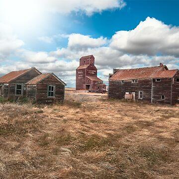 Ghost Town - Bents, Saskatchewan, Canada by TheKav
