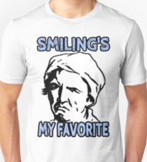 Ironic Smiling is my Favorite T-Shirt