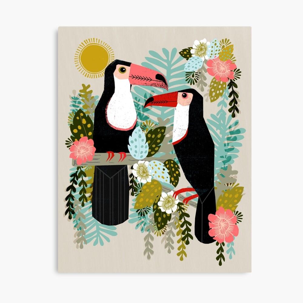 Toucans by Andrea Lauren  Canvas Print