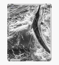 Black black marlin iPad Case/Skin