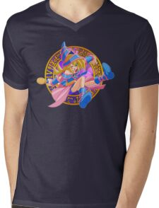 Toon Dark Magician Girl Mens V-Neck T-Shirt