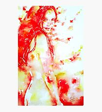 HER HEALING TOUCH Photographic Print