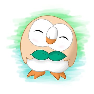Pokemon - #722 ( Rowlet ) by TheWinterColt