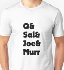 Impractical Jokers Line-Up (Font 3) Unisex T-Shirt