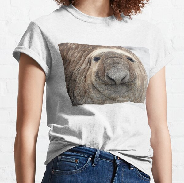 The Beach Master ~ Southern Bull Elephant Seal Classic T-Shirt