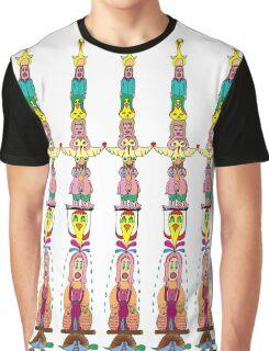 DoodleTotem Graphic T-Shirt