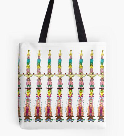 DoodleTotem Tote Bag