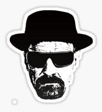 Heisenberg / Walter White - Breaking Bad Sticker