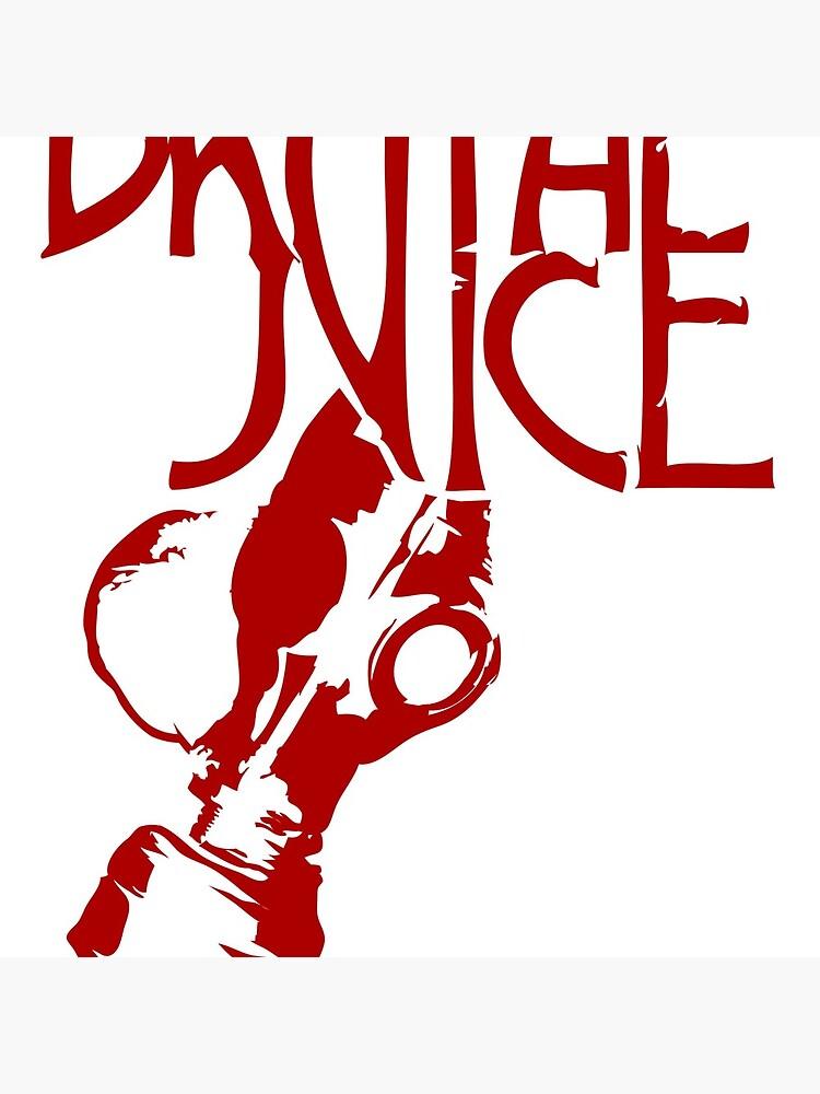 Brutal Juice GasMask Logo RED de BrutalJuice