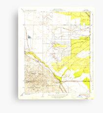 USGS TOPO Map California CA Tupman 296572 1933 31680 geo Canvas Print
