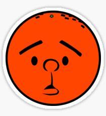Karl Pilkington - Head like a fucking orange! Sticker