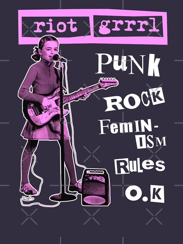 RIOT GRRRL punk rock feminism rules o.k by shnooks