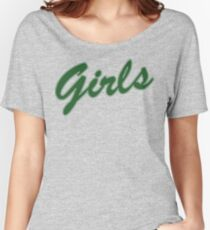 Girls - Inspired by Friends (Green) Women's Relaxed Fit T-Shirt